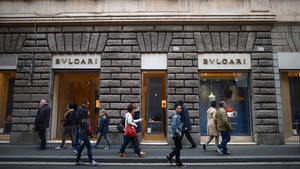New figures show that retail sales in the euro zone rose 1.2% month-on-month in August