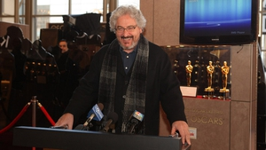 "Harold Ramis at a Meet the Oscars event in 2010. ""Don't cross the streams."""