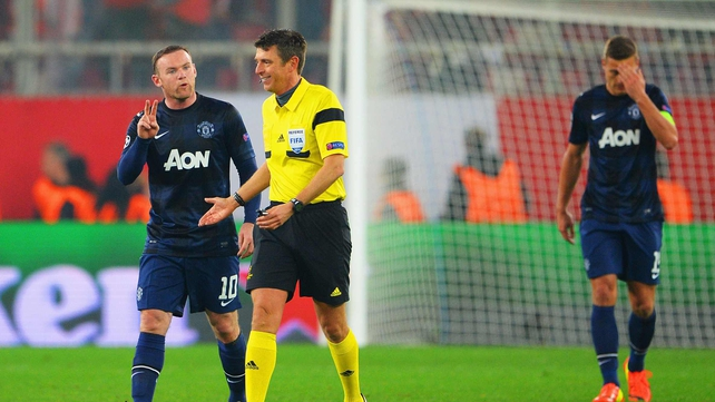 Manchester United suffered a two-goal defeat in Greece