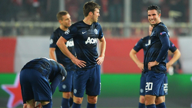 Robin Van Persie believes that some of his Manchester United team-mates are getting in his way