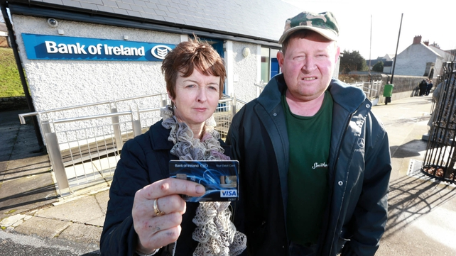 Sean and Margaret Hennessy had money taken from their account in Graiguenamanagh (Pic: Dylan Vaughan)