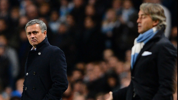 Jose Mourinho and Roberto Mancini have renewed their war of words