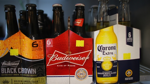 Anheuser-Busch InBev's global brands, including Corona and Budweiser, saw good growth