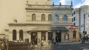 An exterior shot of the completed Gloucester Road Station on the underground Metropolitan and District Railway, which was opened on 3 October 1868 (Pic: Museum of London)