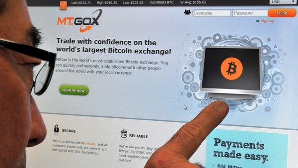 Mt Gox filed for bankruptcy in Japan last month after it said it may have lost 750,000 of its customers' bitcoins