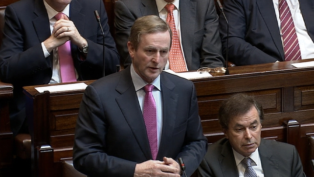 The Taoiseach said the transcript of an alleged conversation between Sgt Maurice McCabe and Oliver Connolly was 'outrageous'