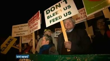 Around 1,000 people attend rally supporting Post Office Network