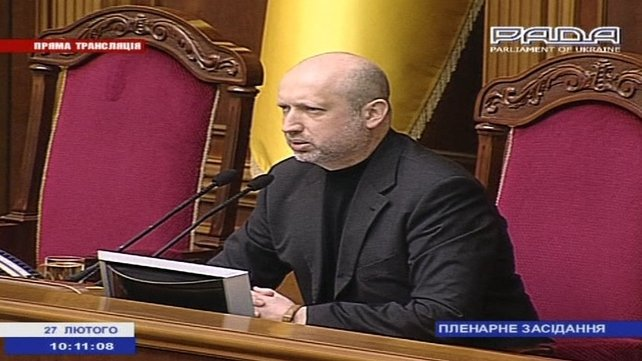 Oleksander Turchynov warned Russia against any act of aggression