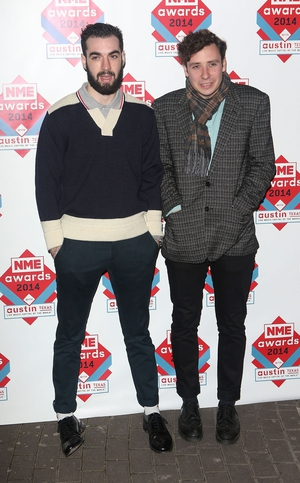 Kevin Baird and Alex Trimble of Two Door Cinema Club
