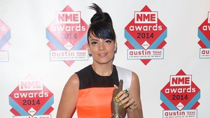 Lily Allen was named Best Solo Artist