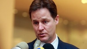 Nick Clegg said he did not want the case to escalate into a 'full-blown political crisis' (Pic: EPA)
