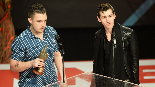 It was a big night for the Arctic Monkeys at the NME Awards