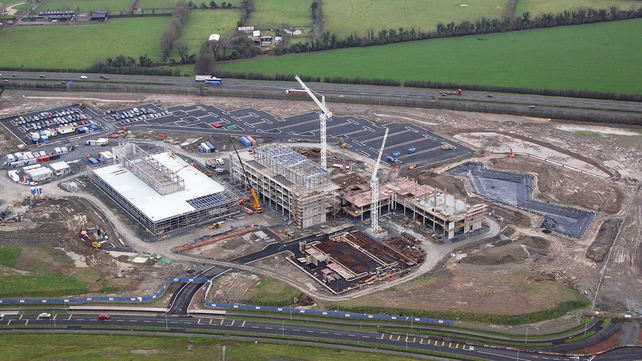 Kerry's new plant at Naas is under construction