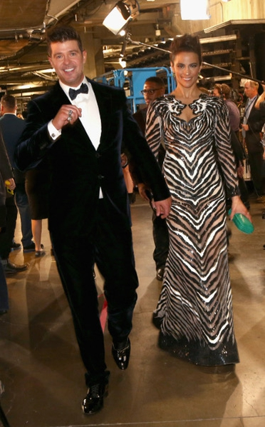 Robin Thicke and his actress wife Paula Patton decided to go their separate ways