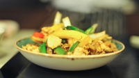 Phad Khing from Saba - Give Dublin restaurant Saba's stir-fried chicken with ginger recipe a whirl for a quick, healthy and delicious family meal.