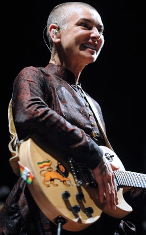 Sinead O'Connor is looking to have her face tattoos removed, just a year and a half after she had them inked on