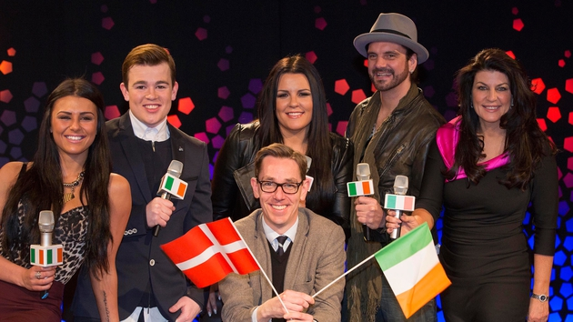 Eurosong acts with Ryan Tubridy