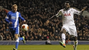 Emmanuel Adebayor looks set for a short trip across London to West Ham
