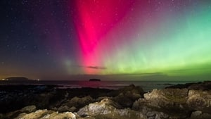 Bright colours in the Inishowen skies (Pic: Brendan Diver)