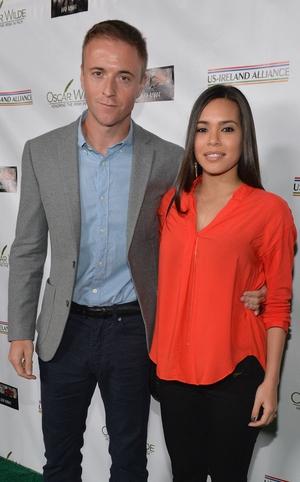 Jason Barry and Kristin Crizaldo