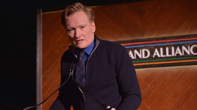 Conon O'Brien was delighted with his authentic Irish audience
