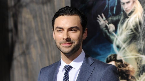 "Aidan Turner: ""I'm very excited to play Ross Poldark"""