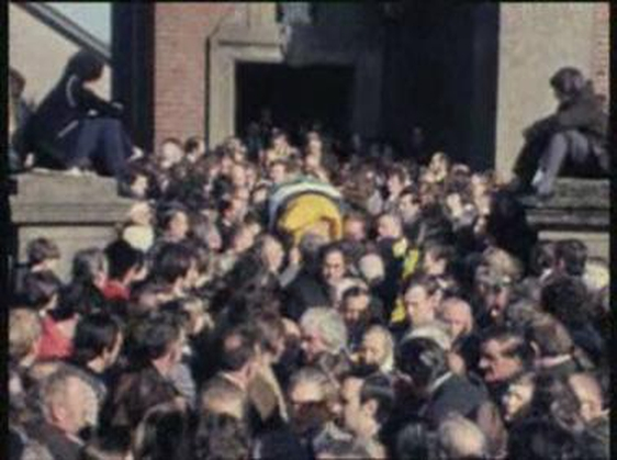 High Profile Funeral for Christy Ring