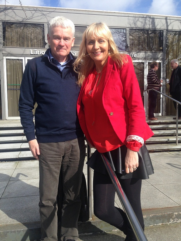 Tommy McKearney and Miriam O'Callaghan
