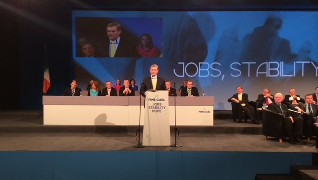 Enda Kenny defended his Government's progress in health reform