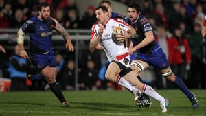 The returning Tommy Bowe bagged a brace of tries for Ulster at Ravenhill