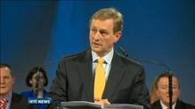 Taoiseach addresses Fine Gael Ard Fheis