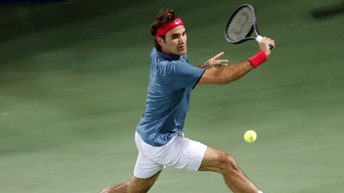 Roger Federer recorded his first victory over Novak Djokovic in 18 months at the Aviation Club Tennis Centre