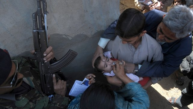 Gunmen frequently attack polio vaccination workers in Pakistan