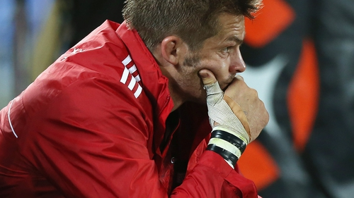 Richie McCaw had an evening to forget for the Crusaders, and was taken off at half-time