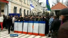 Pro-Russian prime minister claims control of Crimean military