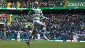 Leigh Griffiths scored Celtic's opening goal