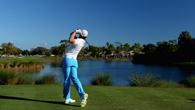 Rory McIlroy in action during the third round of The Honda Classic in Palm Beach