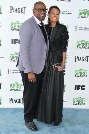 Forest Whitaker and Keisha Nash Whitaker