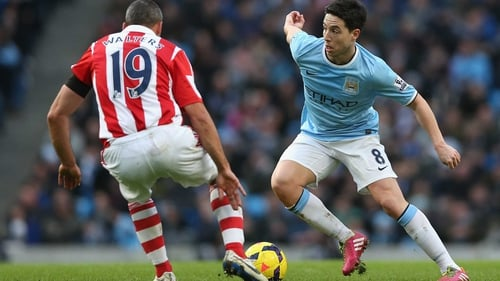 Nasri: 'You have to be focused when you sign for this team, you know the target is to win a trophy every season'