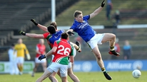 Michael Lyster presents highlights and analysis from the weekend's National Football League matches, including Mayo v Kerry and Dublin v Cork.