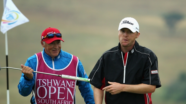 Michael Hoey on day four of the Tshwane Open