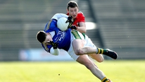 Brian Carthy watched Mayo finish strongly to beat Kerry by five points.