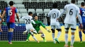 Swansea denied by dubious Palace penalty