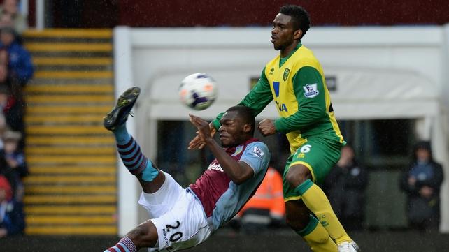 Christian Benteke's wonder goal for Aston Villa cancelled out Norwich's opener