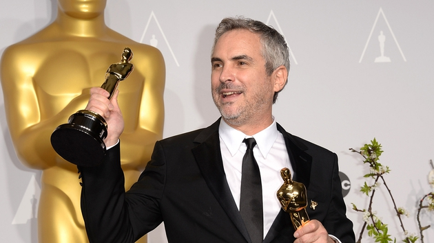 Cuarón - Gravity director won Best Director, with film also winning six other Oscars