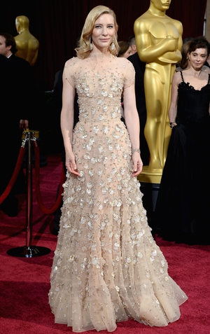 Cate Blanchett picked up the Oscar for Best Actress on Sunday night for Blue Jamine