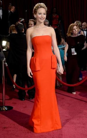 Jennifer Lawrence in Dior (2014)