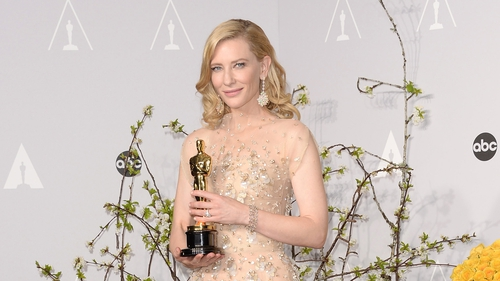 Cate Blanchett won for Blue Jasmine