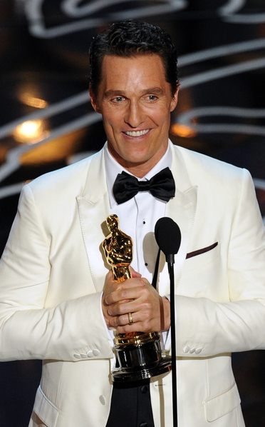 Matthew McConaughy won the Oscar for Best Actor for Dallas Buyers Club