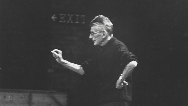 Beckett in Rehersal in Riverside Theatre, London